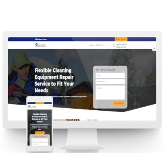 Equipment Repair Brochure Website