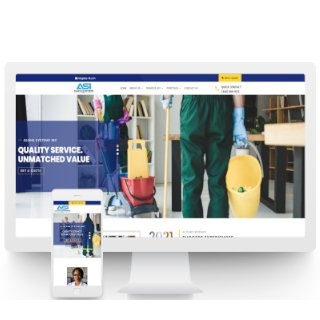 Cleaning Company Brochure Website